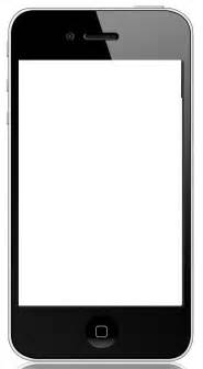 Blank Iphone Template by Best Photos Of Cell Phone Template Blank Iphone Vector