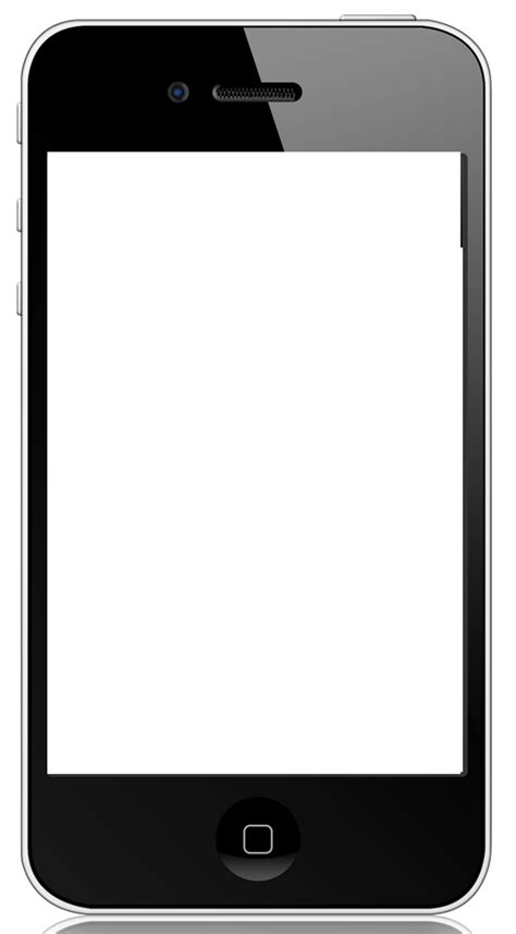 best photos of cell phone template blank iphone vector