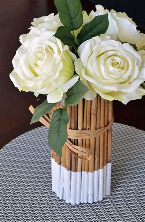 Bamboo Vase Ideas by 18 Epic Bamboo Crafts For Your Home And Decor
