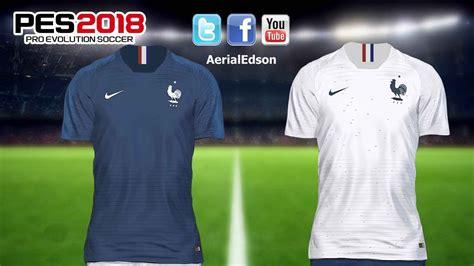 francia mundial 2018 francia kits mundial 2018 v1 pes 2018 ps4