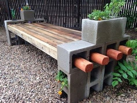 how to build a bench out of cinder blocks inspiring cinder block benches youtube
