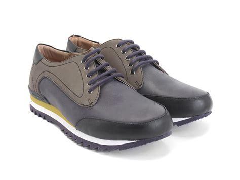 fluevog shoes fluevog shoes shop chief navy sporty lace up derby