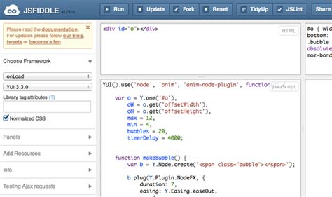 javascript tutorial jsfiddle getting started with javascript debugging