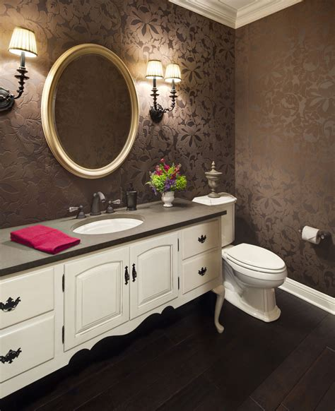 wallpaper for powder room 23 floral wallpaper designs decor ideas design trends