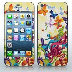 Butterfly Cell Phone Designed By A 15 Year by Iphone 5 5g Skin Stickers On Apple Iphone