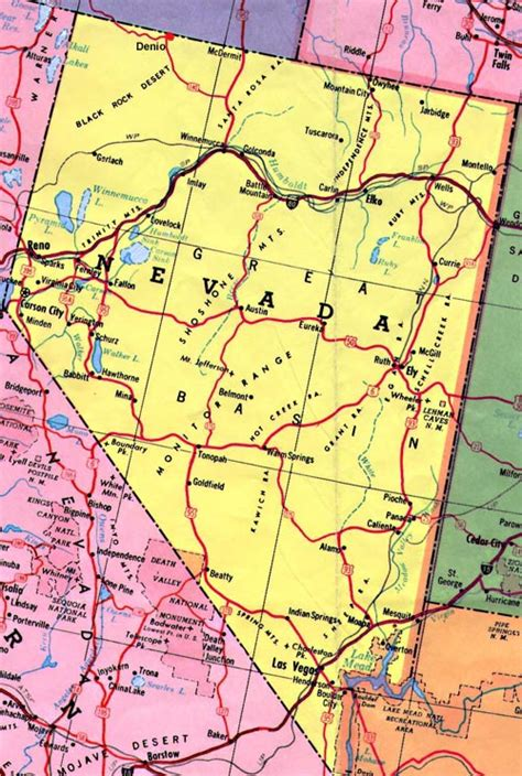 unr map may 2013 map of nevada state printable