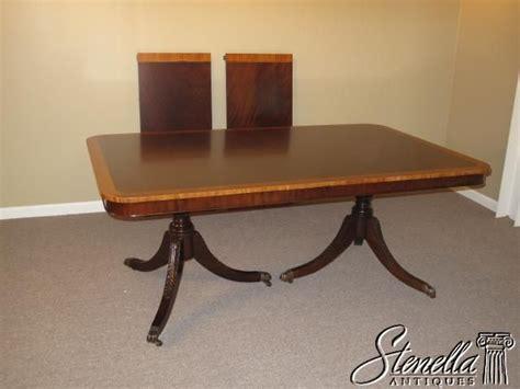 duncan phyfe dining room table 15758 banded mahogany duncan phyfe dining table for sale