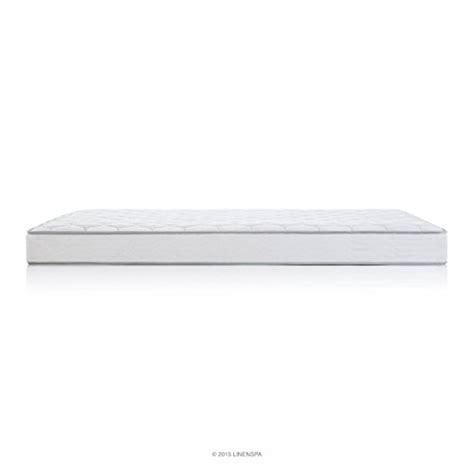 King Size Foam Mattress Pad Linenspa 6 Quot King Size Innerspring Pad New Foam Mattress Bed Waterproof Ebay