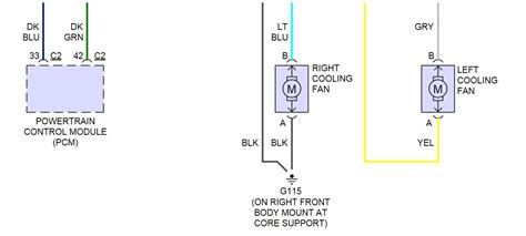 dual electric fan wiring diagram wiring schema collection