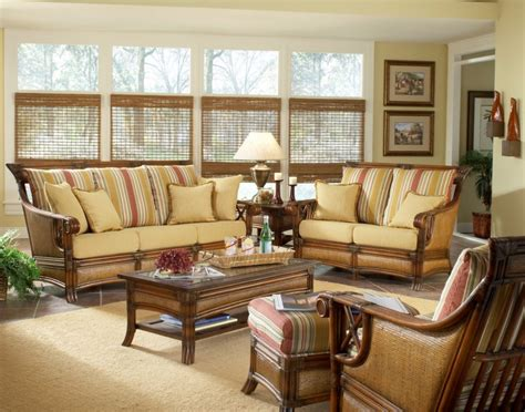 Rattan And Wicker Living Room Furniture Sets Chairs Wicker Living Room Chairs