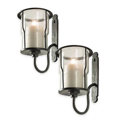 Candle Wall Sconces Canada by Croscill Pullman Sconce Set Of 2 Bed Bath And Beyond