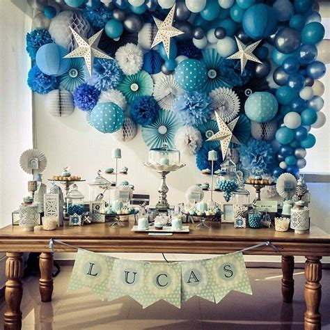 Decoration For Christening Baby by 25 Best Ideas About Boy Baptism Decorations On