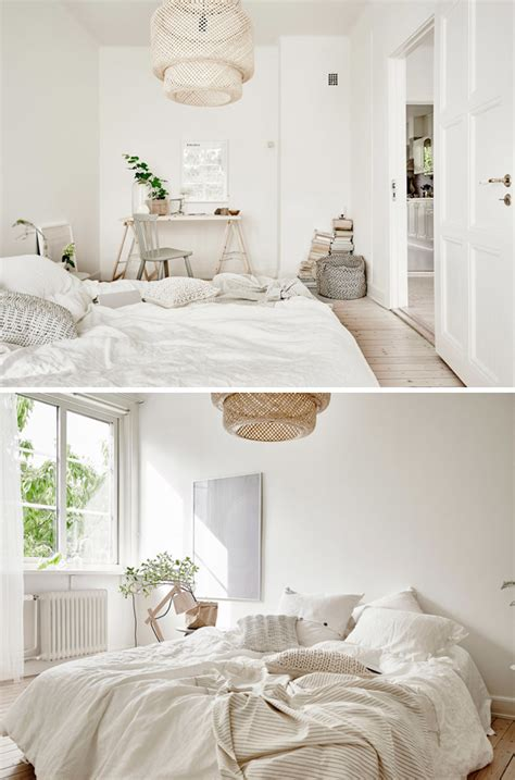 natural bedroom a bright natural style apartment in gothenburg the style