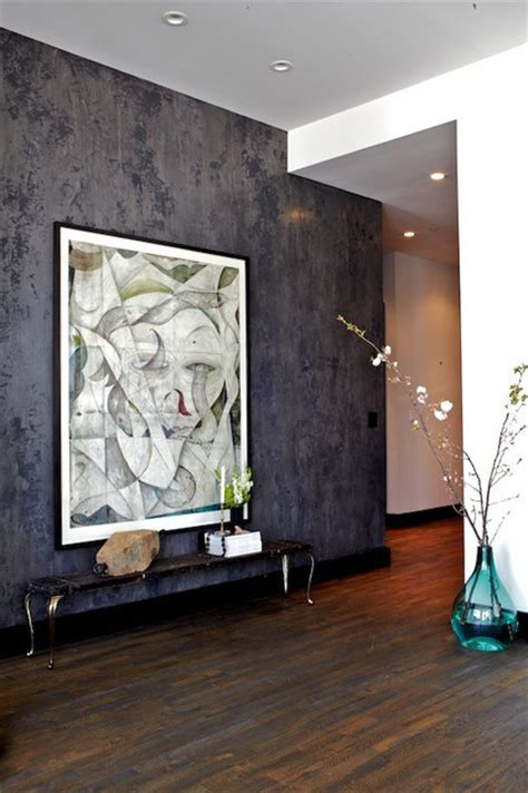 Venetian Living Room by Venetian Plaster Modern Living Room New York By