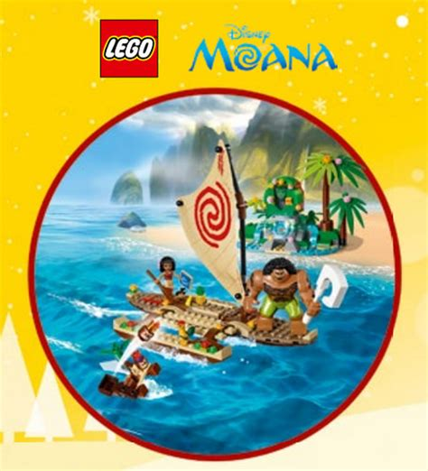 Lego Moana lego 41150 moana on the high seas i brick city