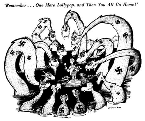 Mickey Mouse Doormat Appeasement Cartoon By Dr Seuss Social Studies And