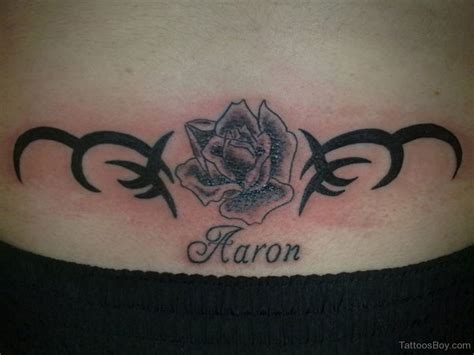 rose tattoo on lower back lower back tattoos designs pictures page 9