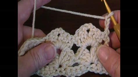 Shell Pattern Crochet Youtube | simple lacy shell stitch youtube