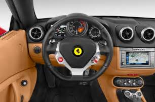 2012 Ferrari California Steering Wheel Interior Photo