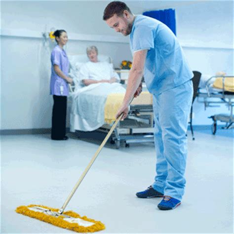hospital housekeeping cleaning octoclean