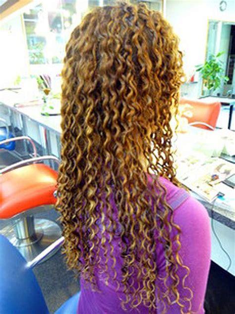 spiral perm long thin hair long hair curly spiral perm by 10011011110010110100 via
