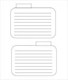 4x6 Index Card Template by Index Card Template 8 Free Documents In Pdf