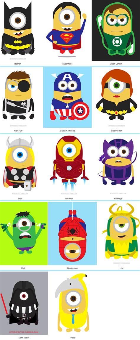 imagenes de minions super heroes super minions vecindad gr 225 fica dise 241 o gr 225 fico happy