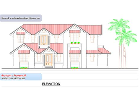 house elevation 6000 sq ft home appliance home plan and elevation 2388 sq ft home appliance