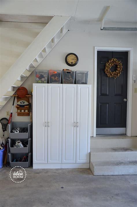 Garage Storage Net Organize Garage Clutter Blogher