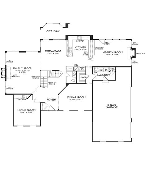 windsor homes floor plans floorplan