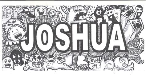 doodle name shane the gallery for gt joshua name wallpaper