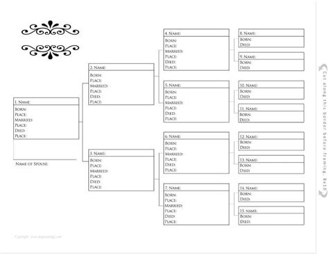printable family tree program 37 best images about pedigree charts on pinterest trees