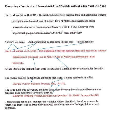 apa reference book journal formatting a peer reviewed journal article in apa style