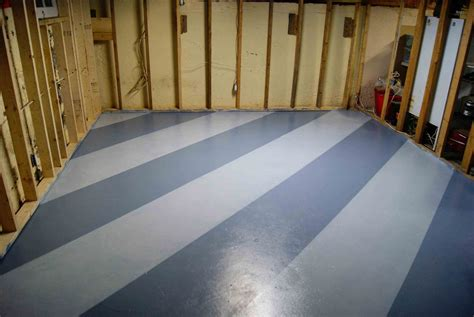 Basement Floor Paint Ideas Steps For Easy Painting Basement Floors Homesfeed
