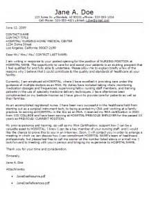 Nursing Cover Letter New Grad Nurse Cover Letter Example
