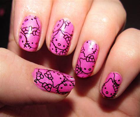 The Nail Hello nail designs spot hello nails