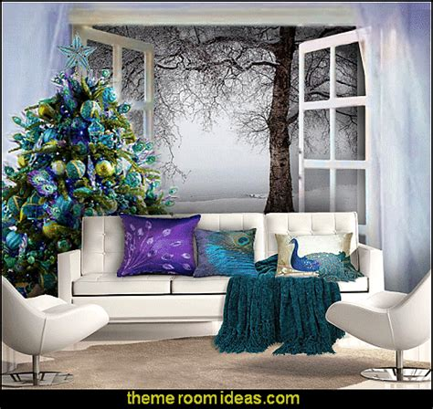 peacock bedroom ideas decorating theme bedrooms maries manor peacock color