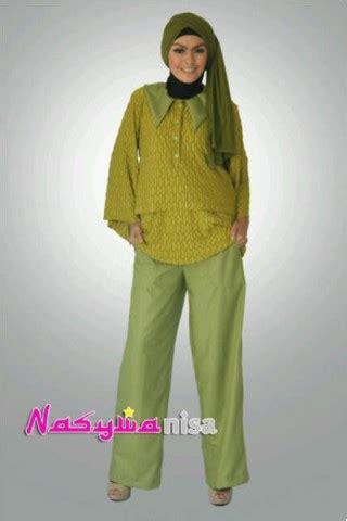 Busana Atasan Model Barbara 2 Blouse Rubiah Terlaris baju muslim nasywa ghaida baju muslim gamis modern