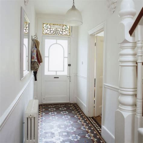 hallway on tiled hallway edwardian - Small Hallway 25 Beautiful Homes
