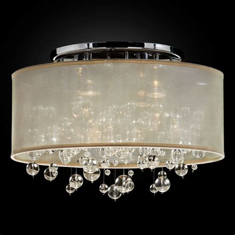 flush mount drum light bubble light fixture flush mount drum shade silhouette