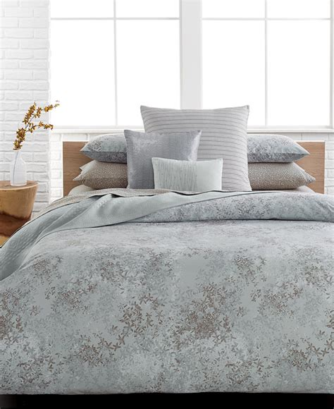 calvin klein bedding calvin klein presidio queen duvet cover set shopstyle home