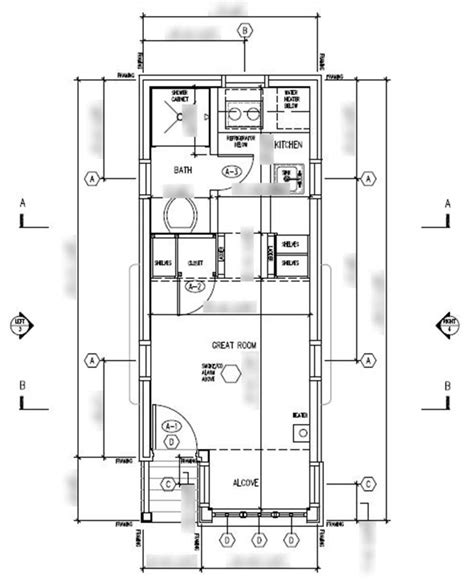 Tumbleweed The Tiny Life Tumbleweed Tiny House Floor Plans