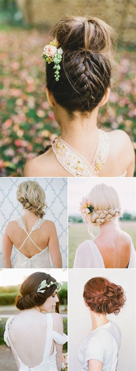 wedding boho updo 100 wedding hairstyles 2018 curls half