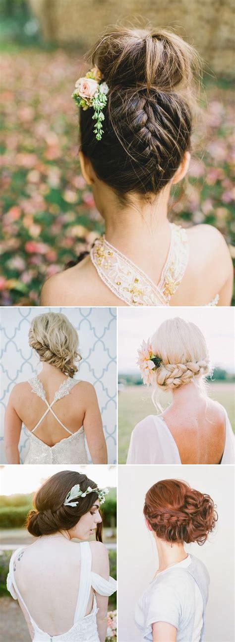 Wedding Boho Updo by 100 Wedding Hairstyles 2018 Curls Half