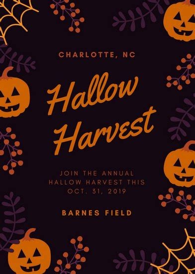 canva halloween flyer customize 41 halloween flyer templates online canva