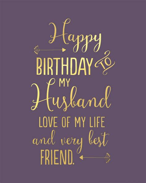 Happy Birthday To Husband And by Happy Birthday Husband Greetings Card