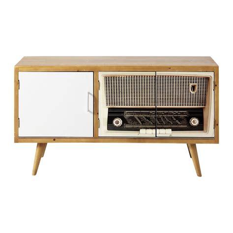 Meuble Tele Retro meuble tv vintage fifty s maisons du monde