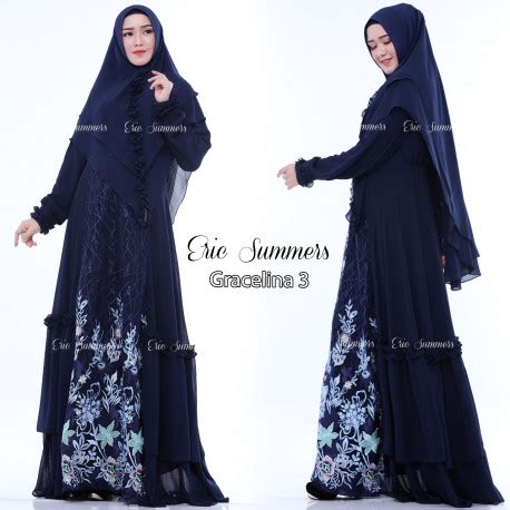Gracelina 3 By Eric Summer gamis syari gracelina 3 by eric summer pusat busana gaun pesta muslim modern