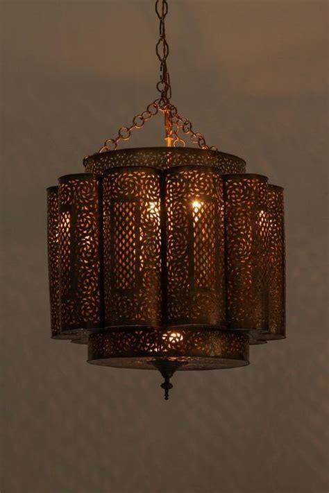 large moroccan chandelier large pierced brass moroccan chandelier in alberto pinto