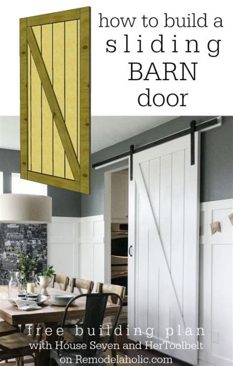 Do It Yourself Barn Doors Simple Diy Barn Door Tutorial Sliding Barn Doors Do It Yourself And Offices
